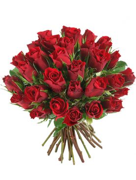 Forever Love 30 Red Roses Bouquet