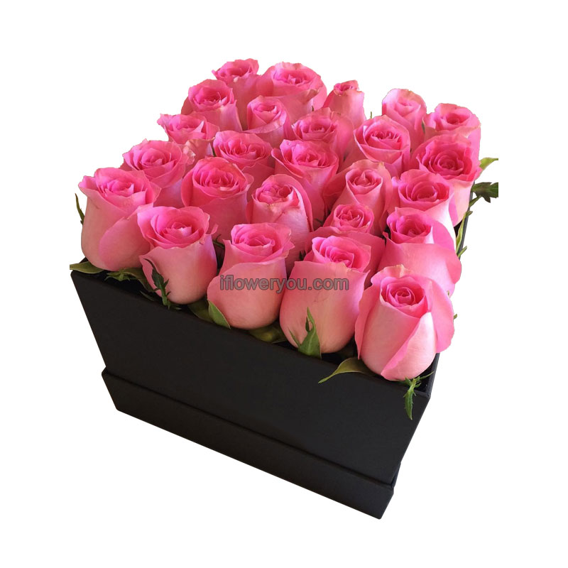 Mother S Day Graude Pink Flowers Box Large