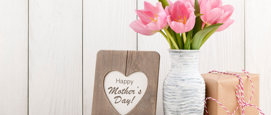 Mothers Day Flowers banner