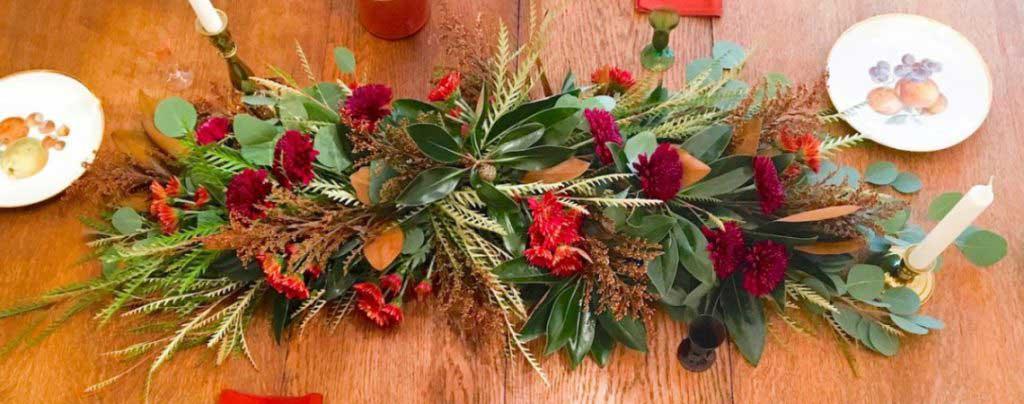 Holiday Table Garland