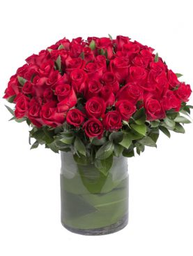 75 Red Roses Luxurious Bouquet