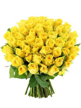 50 Summer Yellow Roses