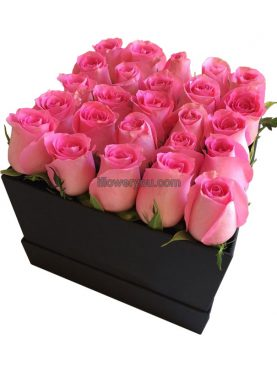 Mother's Day Gratitude Pink Flowers Box - Large
